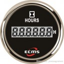 Счетчик моточасов ECMS CLH2-BS-HS 52мм черный