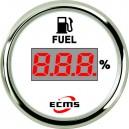 Цифровой датчик топлива ECMS CEF2-WS-240-33 52мм белый