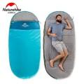 Спалный мешок Nature Hike PAD300 овальной формы (200+30)*100см синий