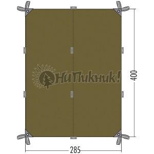 Tatonka Tarp 4 ТЕНТ 2.85-4.00 bazil