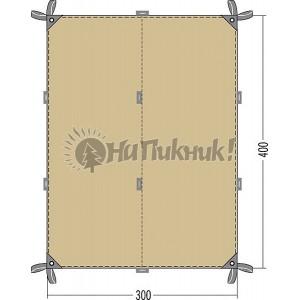 Tatonka Tarp 4 TC 2.85-4.00m cocoon