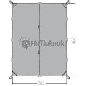 Tatonka Tarp 4 Simple 2.85-4.00m assorted