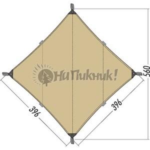 Tatonka Tarp 3 TC 3.96-3.96m cocoon