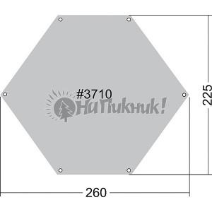 Zeltunterl 6-eck 225-260 Подстилка под палатку