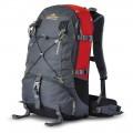 Рюкзак VECTOR 35-new красный-серый